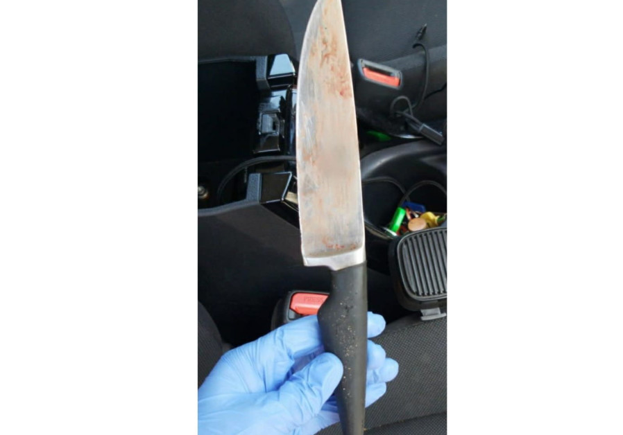 The knife that was found on the suspect. (Credit: Police Spokesperson's Unit)