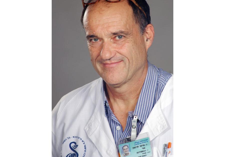 Prof. Zvi Symon of Sheba's Radiation Oncology Department (Credit: Courtesy of Sheba Medical Center)