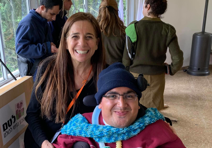 Jewish National Fund-USA's Sharon Joy pictured with Raz Rutman (Courtesy: JNF-USA)
