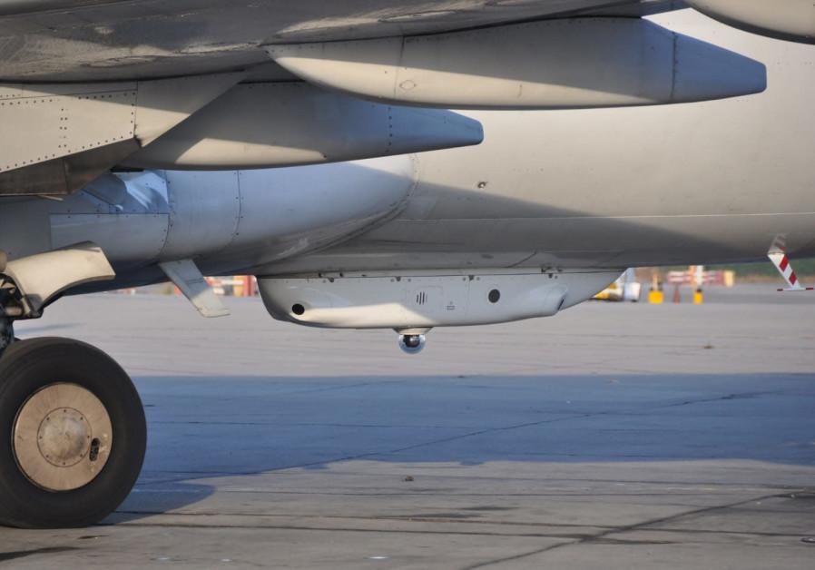 El Al plane equipped with Elbit's Directed IR Countermeasures (Credit: Elbit)