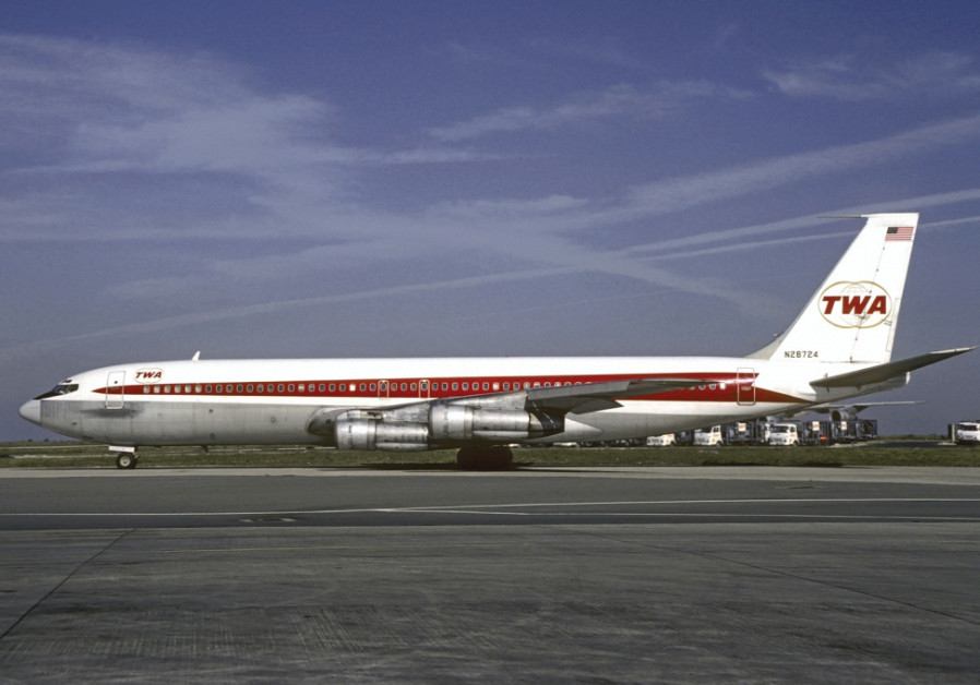 A TWA Boeing 707 similar to the hijacked aircraft. (Wikimedia Commons)