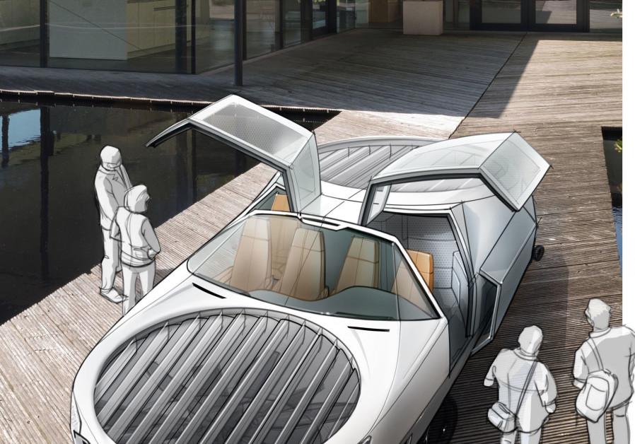 The City Hawk model presented in this computer graphic. (Credit:Urban Aeronautics)
