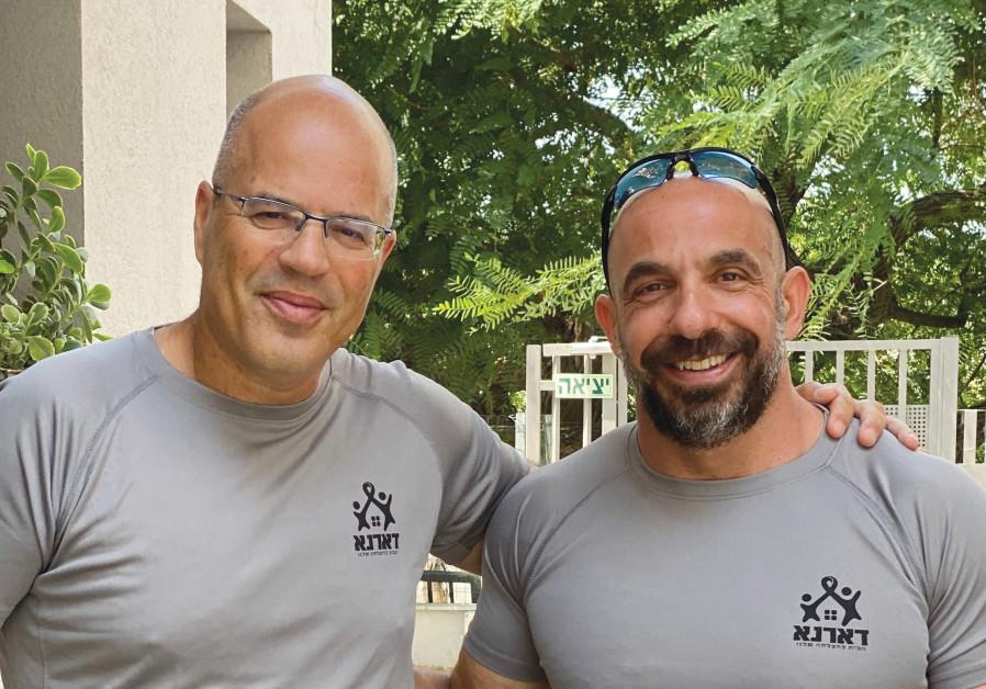 UDI GELBARD (left) and Tomer Buhadana lead the staff. (Credi: Darna)