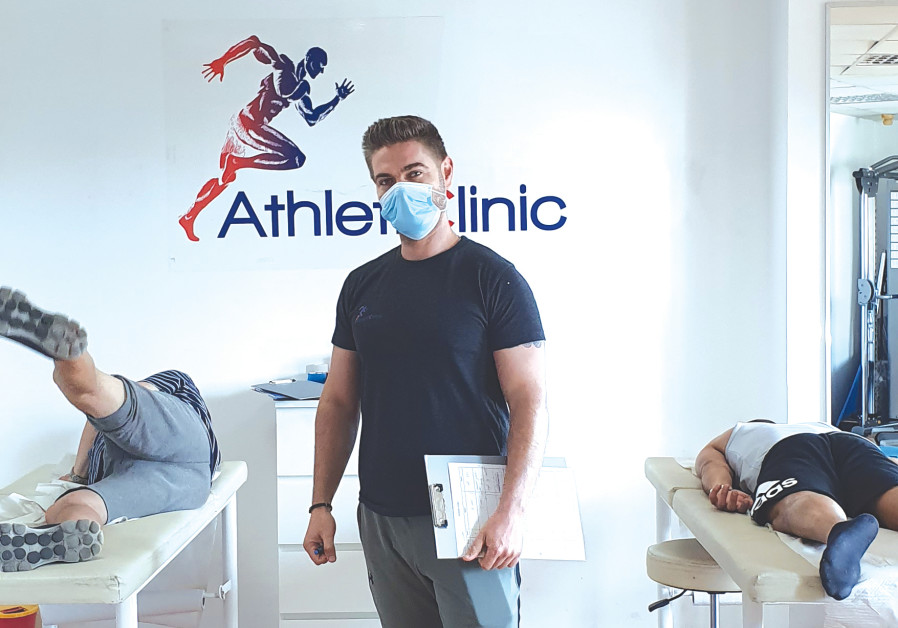 """Michael Pichenuk - owner of the """"Athleticlinic"""" physiotherapy and sports injury rehabilitation clinic"""