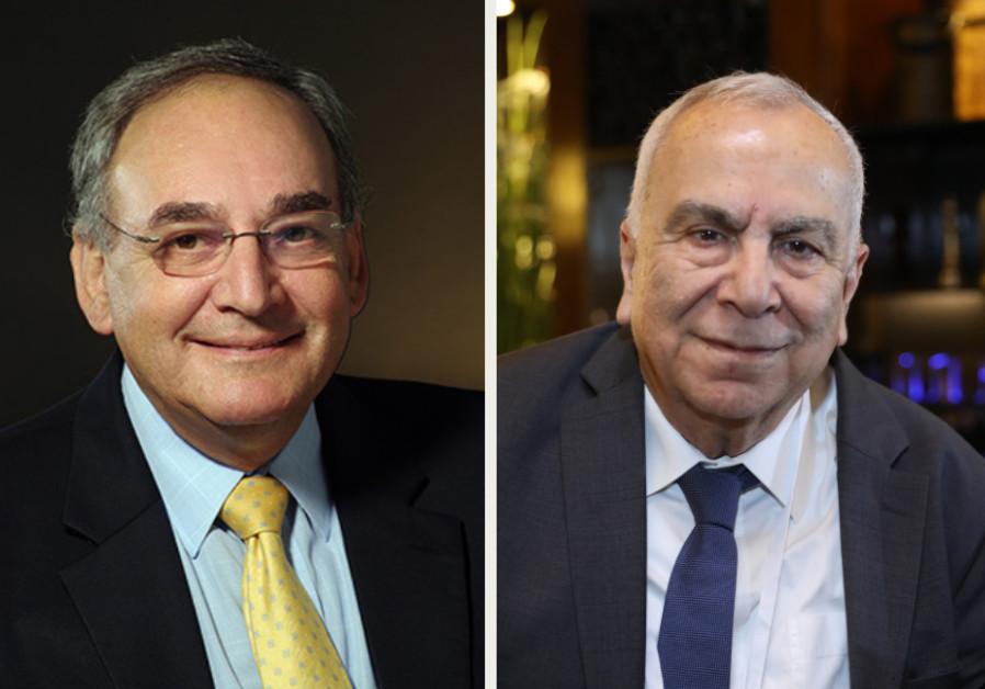 (L-R) Shuki Shemer and Zeev Rotstein (Photo credits: Hadassah / Marc Israel Sellem)