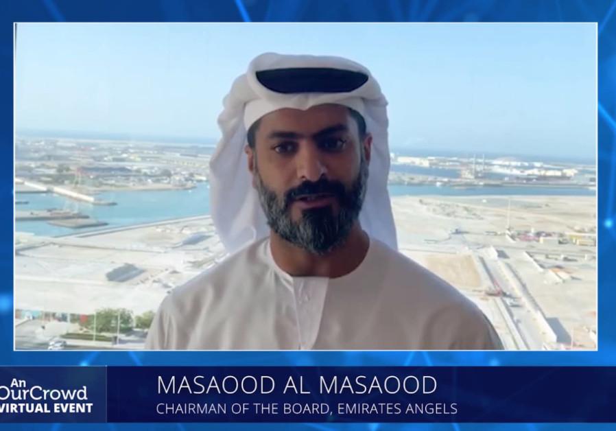 Chairman of the Emirates Angels Investors Association Masaood Al Masaood (Credit: OurCrowd)