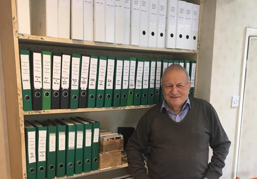 British historian and collector David Pearlman (Credit: Hebrew University)