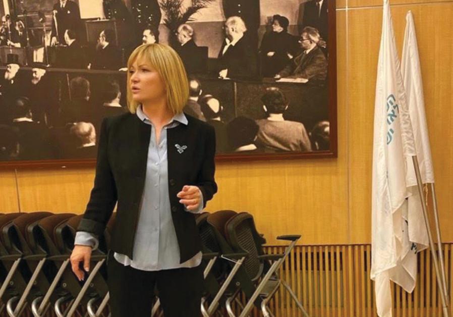 Marina Rosenberg-Koritny: 'We adjust their expectations to the reality of life here.' (World Zionist Organization)