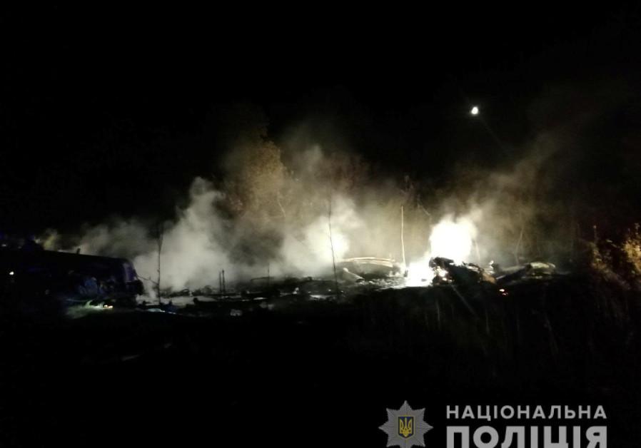 4 dead in Ukraine aircraft crash, 3 were Jerusalem yeshiva students