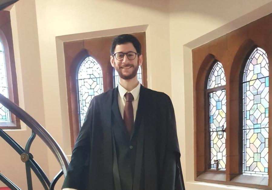 Ido Rosen, Tel Aviv native and PhD student of the Cambridge University (courtesy)