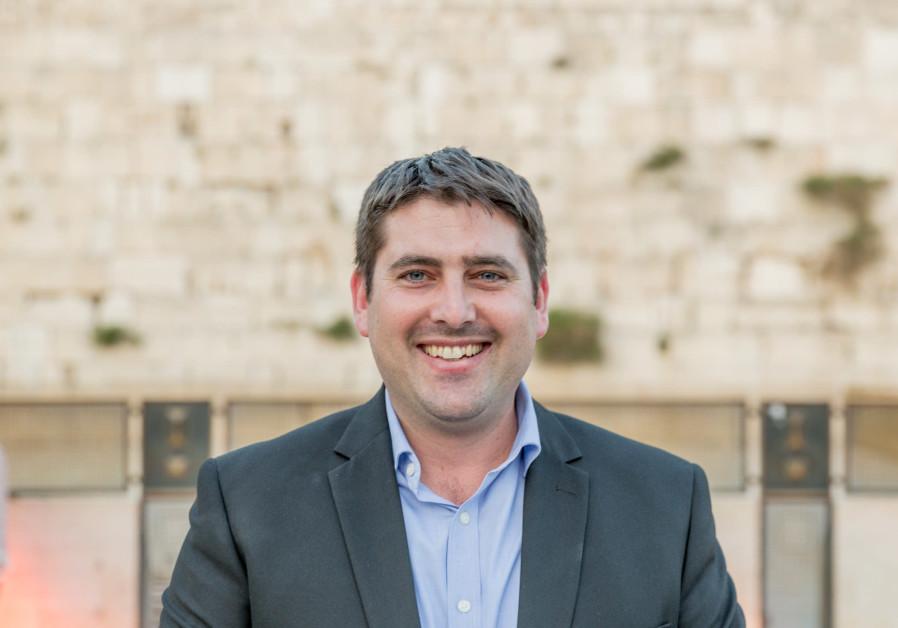 Yonatan Galon, former Chief Executive Officer at JNF UK CEO of JNF UK Israel (Mika Gorvitz)