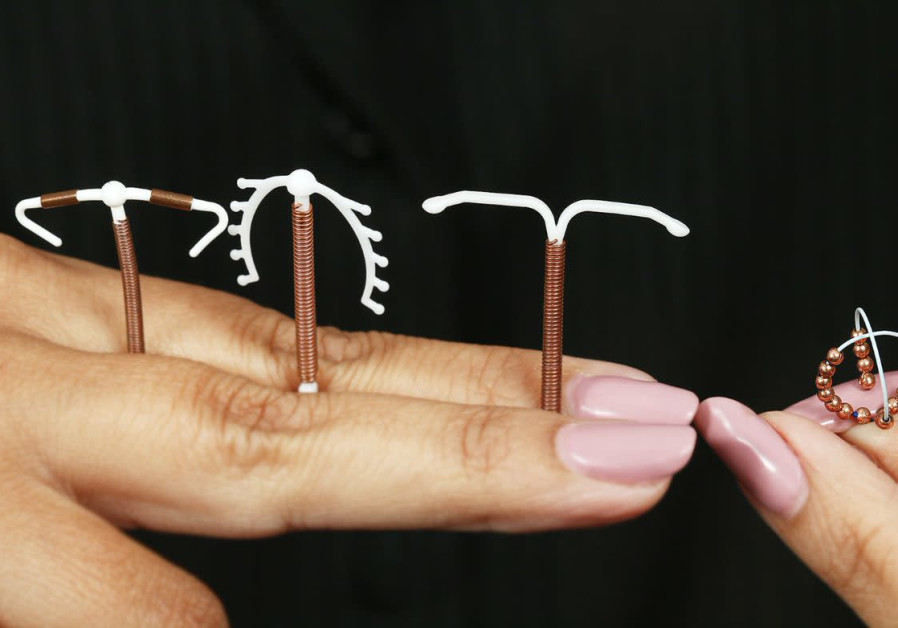 Unlike standard T-shaped copper IUDs, OCON's IUB Ballerine (right) is smaller and made out of a flexible alloy. (Courtesy)