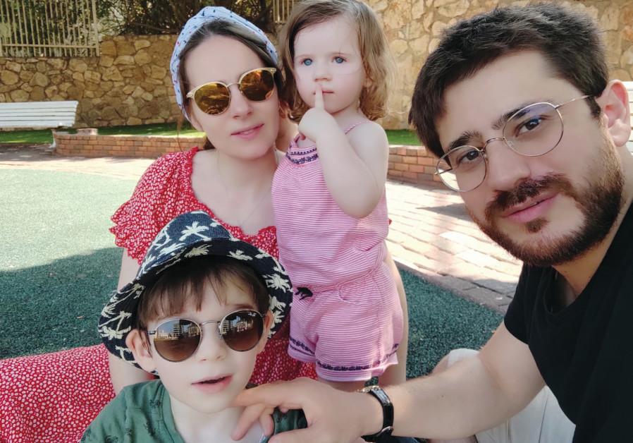 DR. DAN TAYEB with wife and children. (Dan Tayeb)