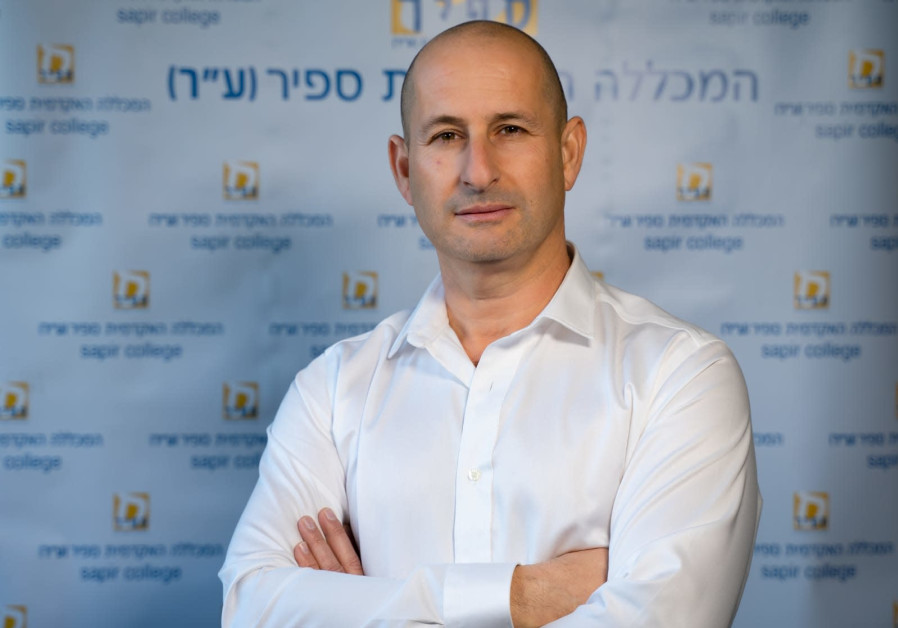Director of the Practical Engineering and External Studies Center at Sapir College, Dudu Shlomo. (Photo credit: Adva Odeya Ogen)