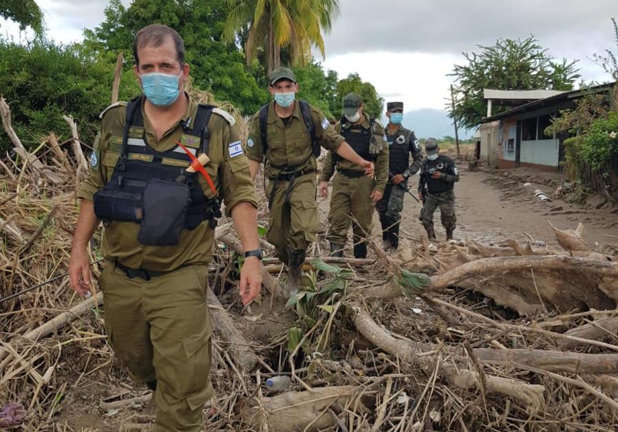 Israeli delegation in Honduras providing aid following hurricanes
