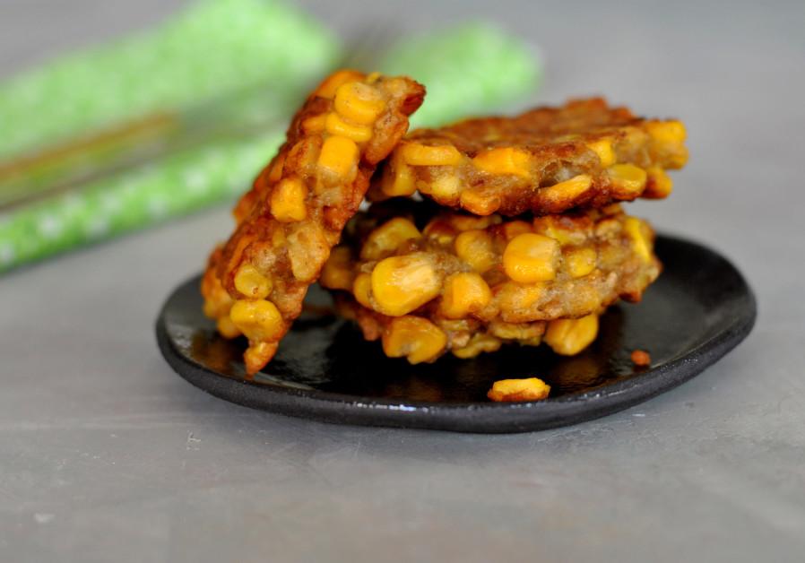 Latkes de maïs (Photo: Pascale Perez-Rubin)