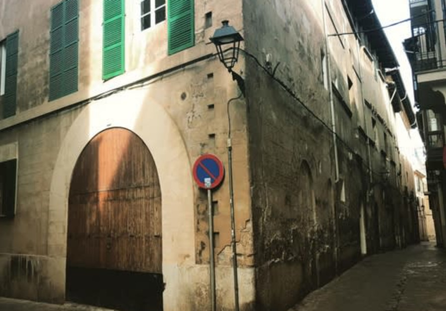 The historic Jewish Quarter in Palma, Majorca. (Photo credit: Dani Rotstein)
