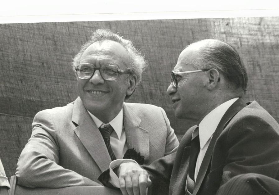 Avi-hai with Menachem Begin, circa 1980. (Photo credit: Courtesy Avraham Avi-Hai)