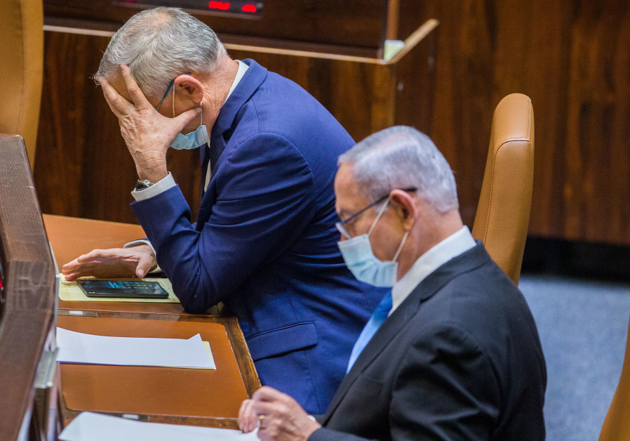 Netanyahu, Gantz clash over Palestinian, Arab family reunification