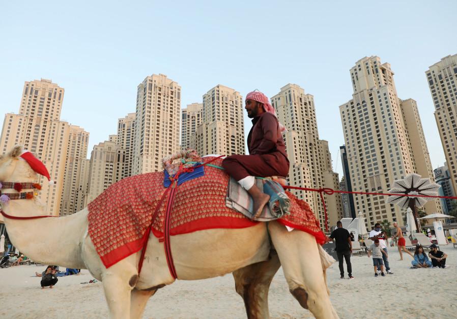 POST-ABRAHAM Accords, 70,000 Israelis flooded Dubai. (Photo credit: Ahmed Jadallah/Reuters)
