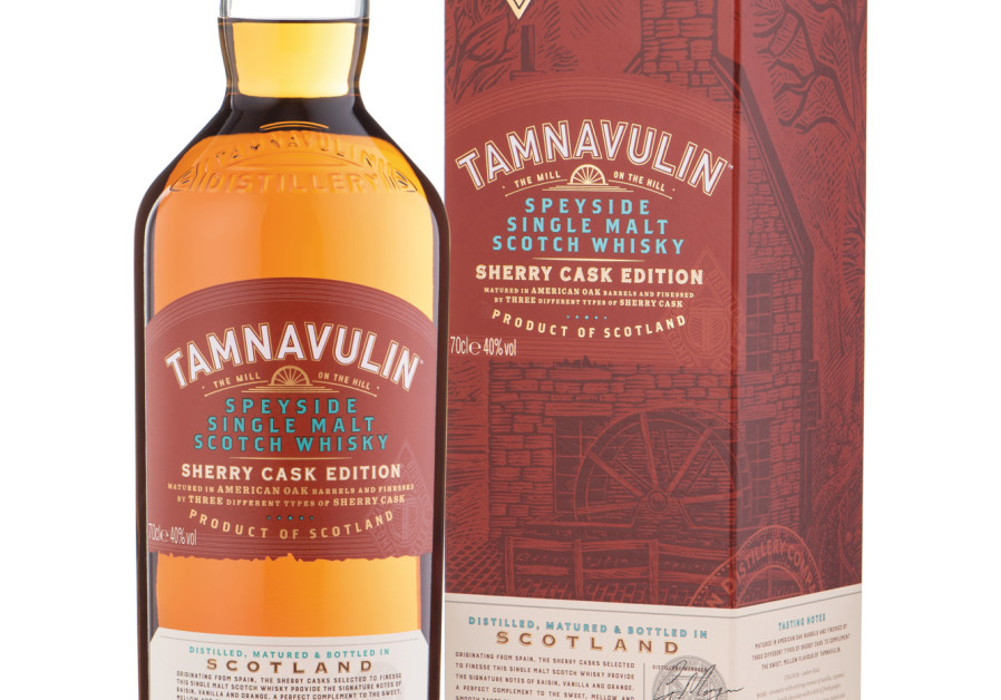 Tamnavulin Sherry Cask single malt. (Photo credit: Assaf Levy)