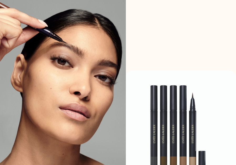 The new Estee Lauder Featherlight Brow Enhancer. (Photo credit: Courtesy)