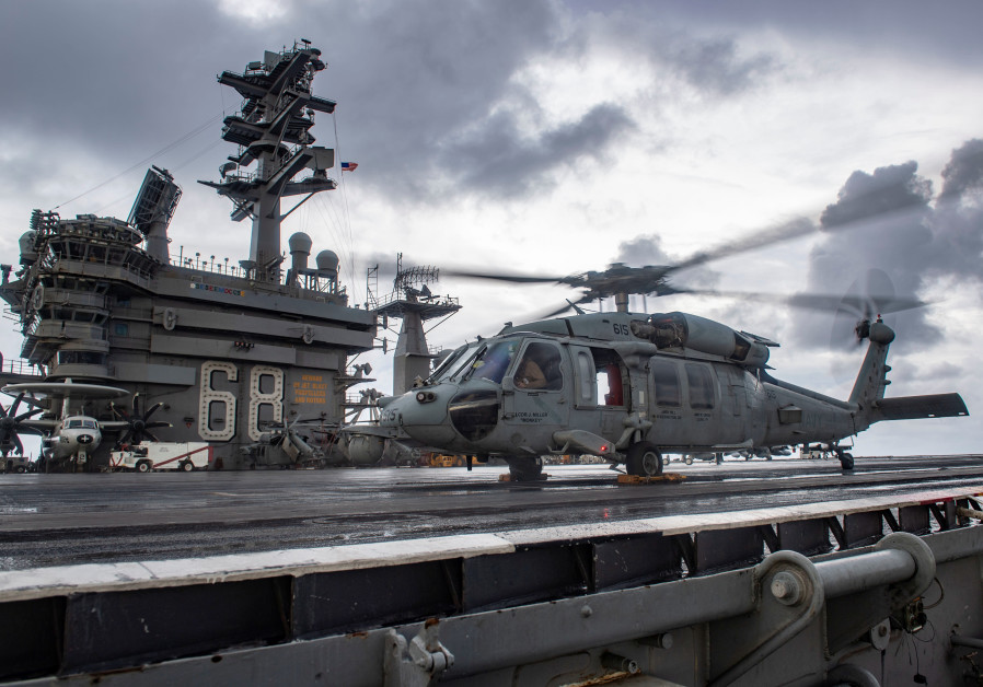 The 'USS Nimitz' turns around: US 100,000-ton message to Iran