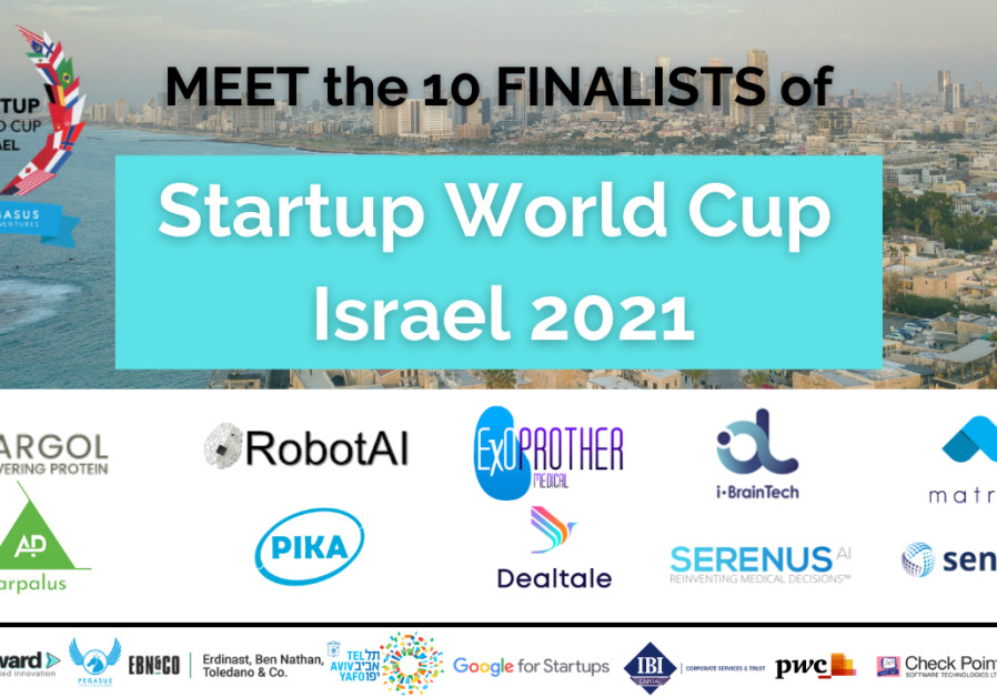 The Startup World Cup finalists. (Credit: Courtesy)