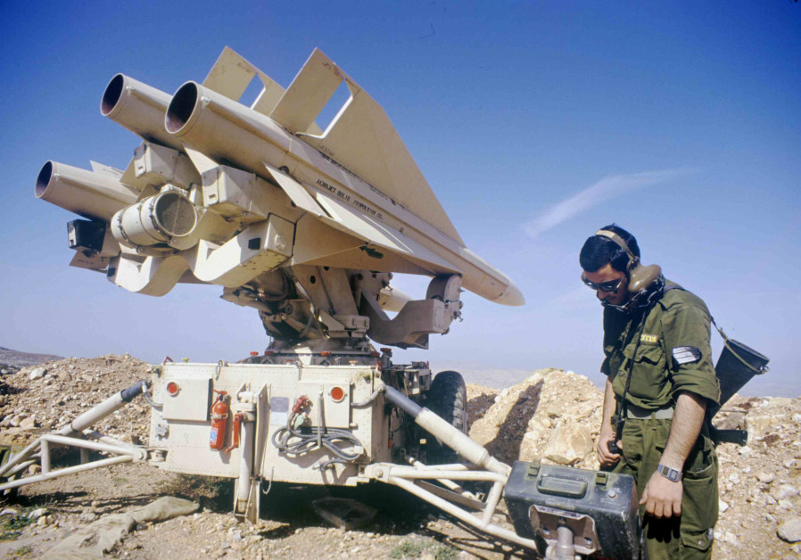 One of the activated missiles belonging to the Isareli Air Force. (Credit: IDF ARCHIVES, DEFENSE MINISTRY)