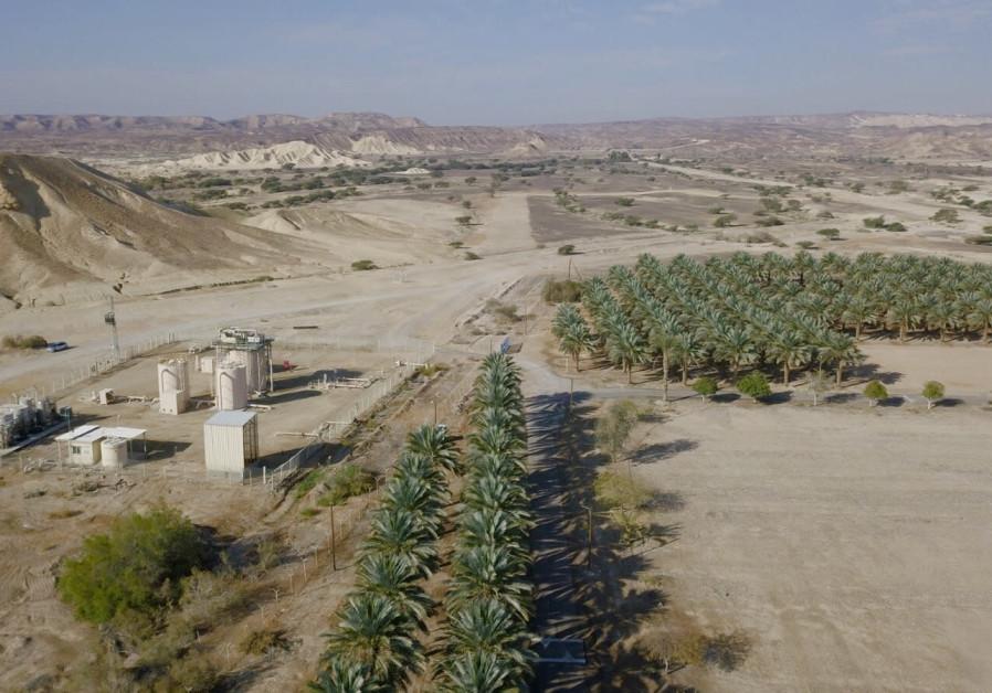 Zofar desalination plant. (Amihai Sande)