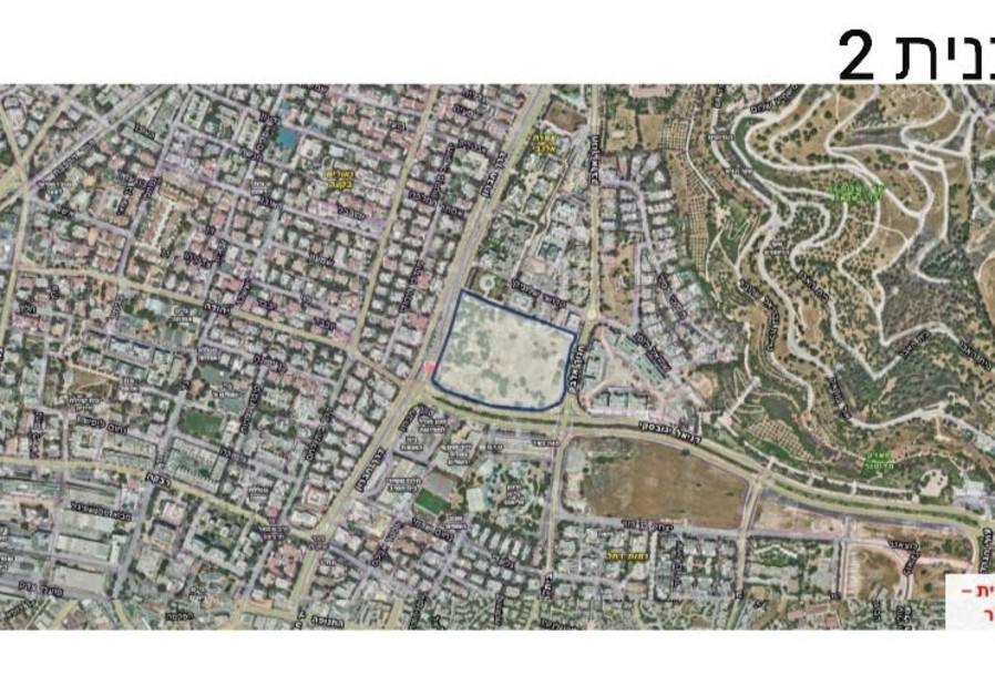 Details of the plans for the construction of a new embassy on Derech Hebron, January 13, 2021. (Credit: JERUSALEM MUNICIPALITY)