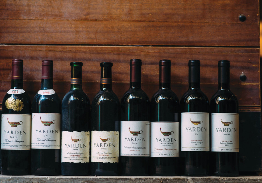 YARDEN CABERNET Sauvignon, the country's flagship wine and the one most associated with Schoenfeld.