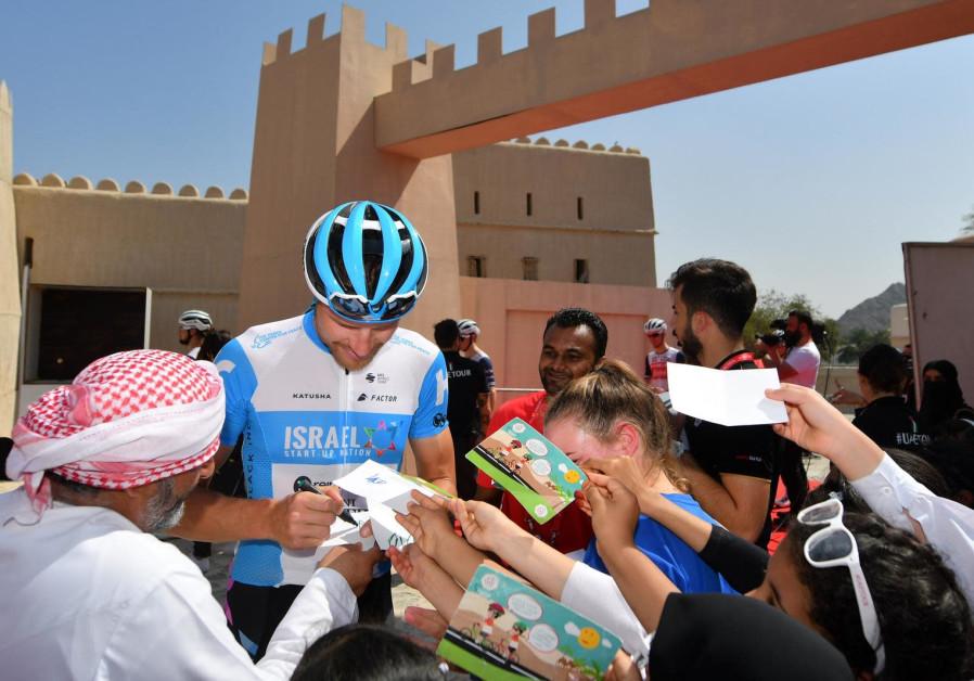 Sylvan Adams in the UAE (Credit: Israel Start Up Nation)