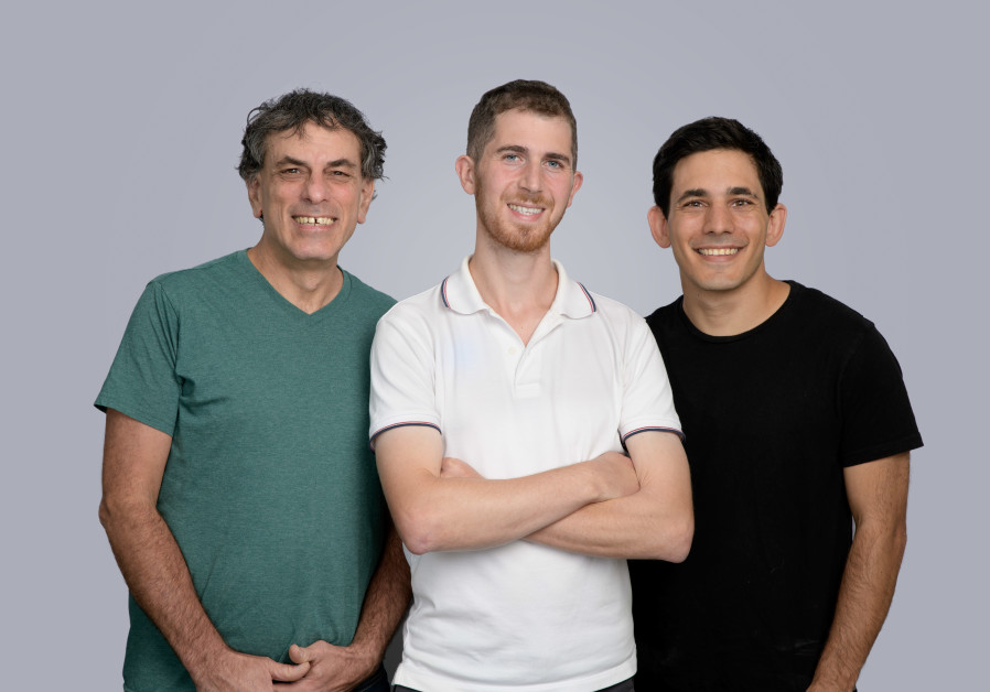 THE CLASSIQ team of cofounders (left to right): Dr. Yehuda Naveh, CTO; Nir Minerbi, CEO; and Amir Naveh, VP of R&D. (Classiq)