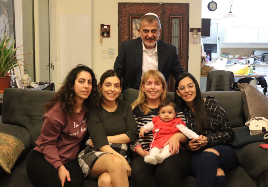Sara Shoham and family (Credit: Courtesy)