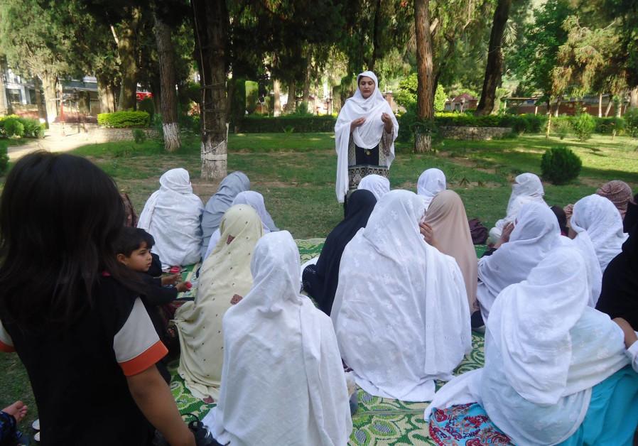 Hadiqa Bashir speaks out against early-age forced marriages. (Courtesy Ifthikar Ahmad).