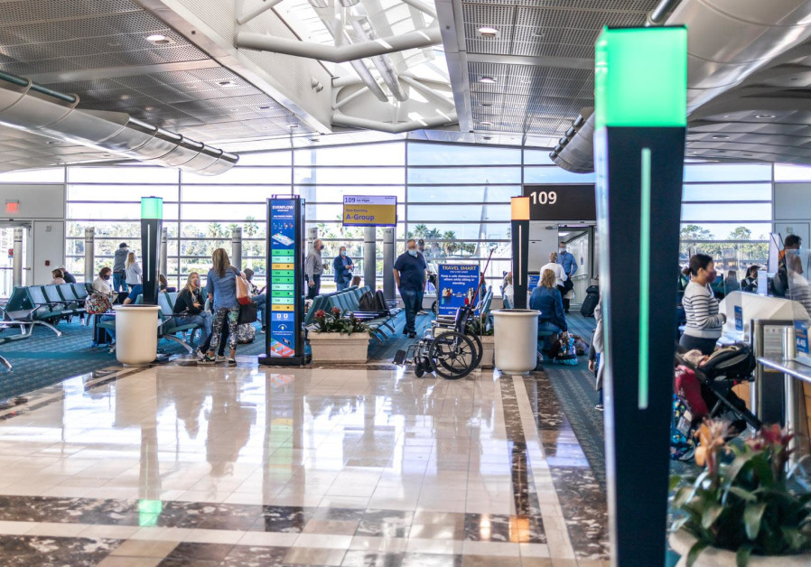 Protouch's crowd control system for airports (photo credit: Courtesy)