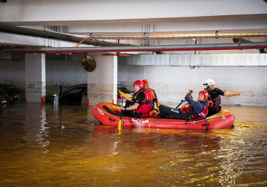 Amid stormy weather, Israeli innovation saves Holon from flooding