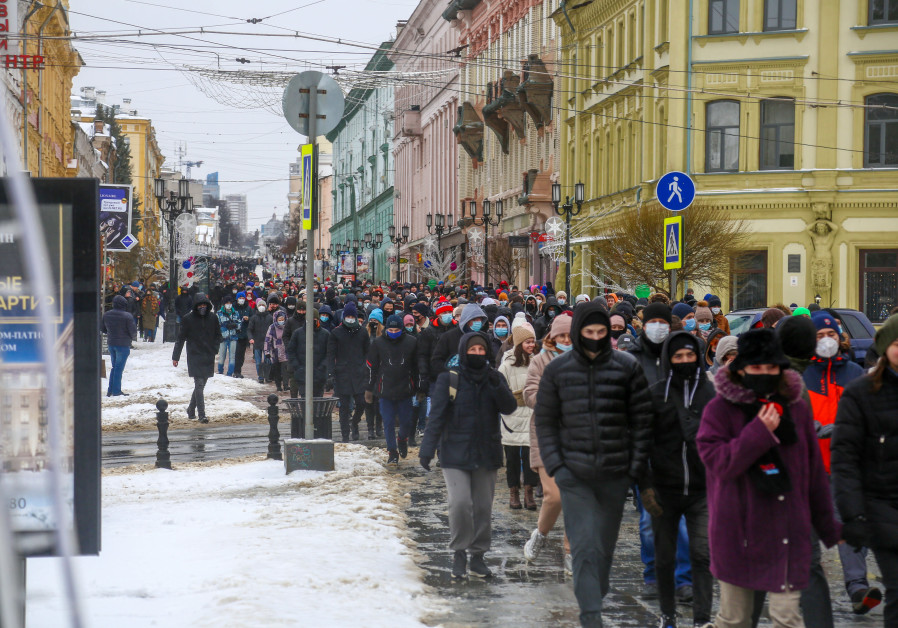 Why the anti-Putin protest movement divides Russian Jews