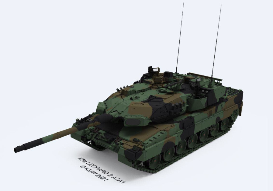 Israel signs agreement to equip German military with Trophy APS
