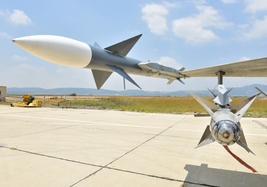 Rafael marks milestone in development of I-Derby ER air-to-air missile
