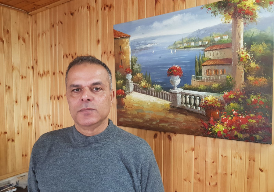 Fahmi Shabaneh, former PA intelligence officer. (Photo credit: Khaled Abu Toameh)