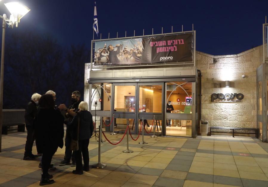 Movie lovers flock back to Jerusalem Cinematheque