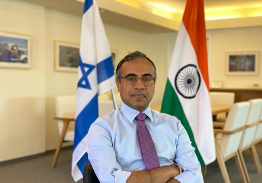 Indian Ambassador to Israel Sanjeev Singla. (Photo credit: Courtesy Indian Embassy in Israel)