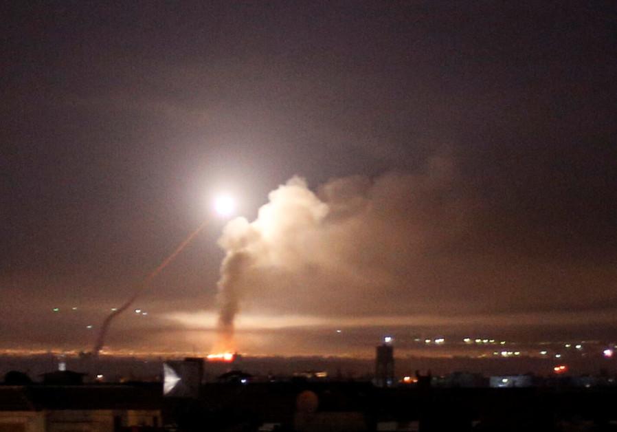Ballistic missiles target north Syria oil facilities in rare attack