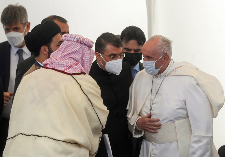 Pope`s Iraq visit kindles hope among many wanting to see country recover