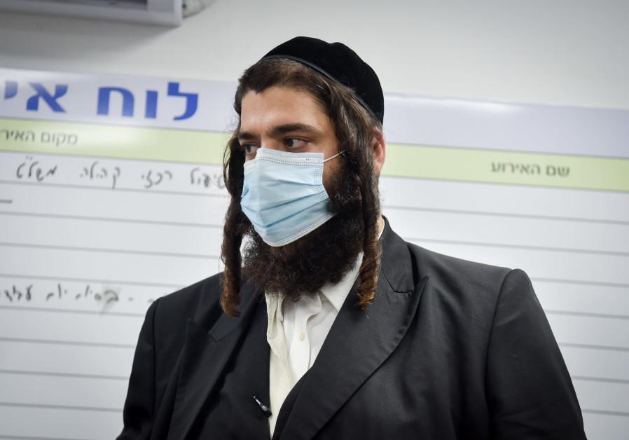 ELAD MAYOR Yisrael Porush: Cramped housing conditions must be addressed. Pictured: Elad, April 2020. (Yossi Aloni/Flash90)