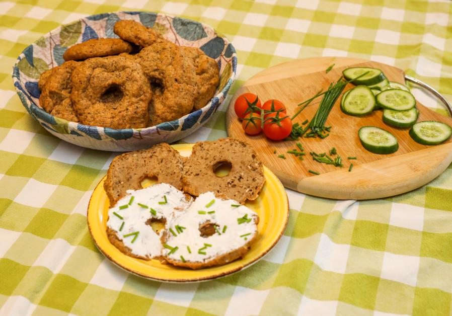 Passover bagels (Photos: Marc Israel Sellem)