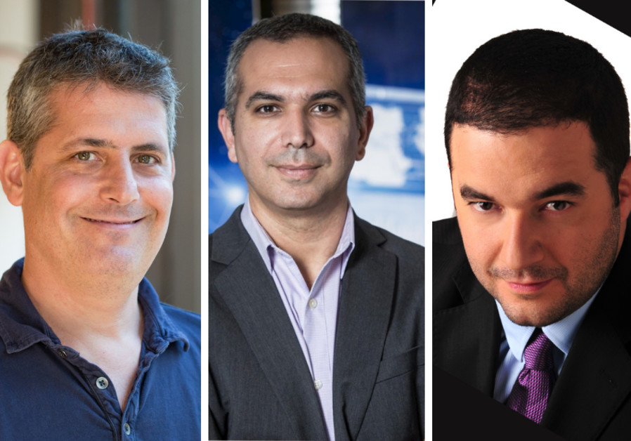 (L-R) Nimrod Vax, Co-Founder, Head of Product at BigID; Tomer Gershoni, Senior Director, Head of Security Engineering & Cyber Defense Center at Imperva; and Etay Maor, Senior Director Security Strategy, Cato Networks (Credit: Dor Nevo / Courtesy)