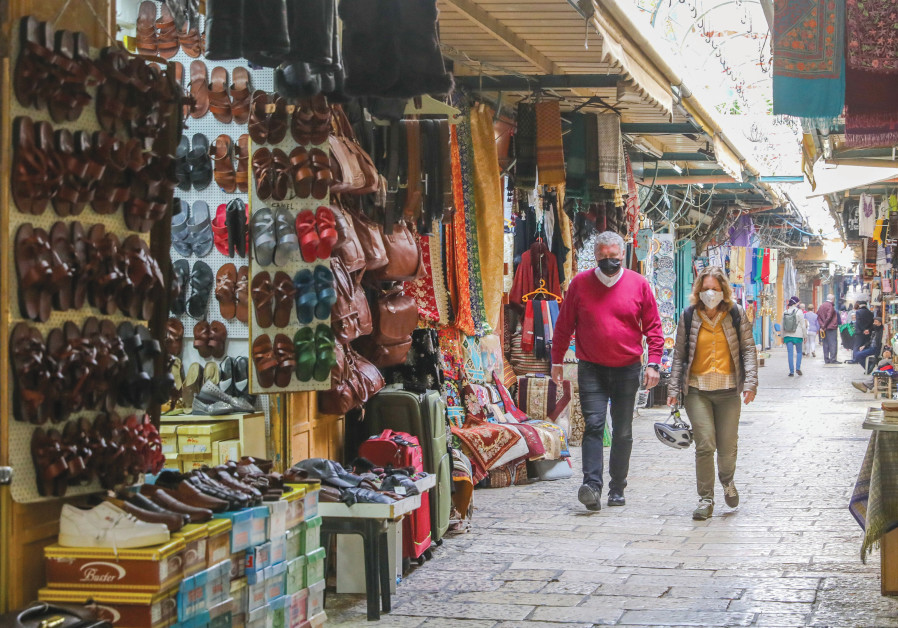 THERE IS virtually no traffic in places that are usually packed with tourists. (Credit: MARC ISRAEL SELLEM/THE JERUSALEM POST)